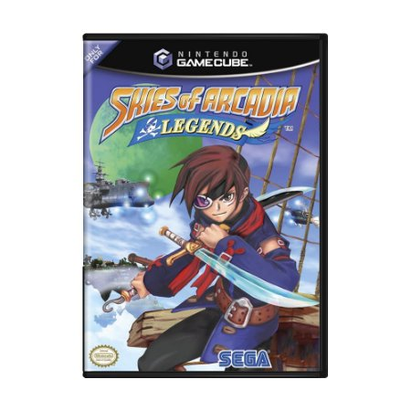 Jogo Skies of Arcadia Legends - GameCube