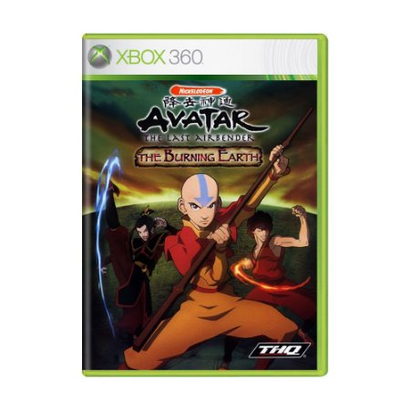 Jogo Avatar: The Last Airbender – The Burning Earth - Xbox 360