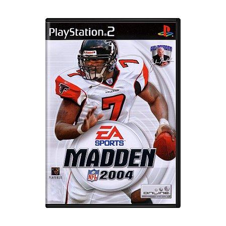 Jogo Madden NFL 2004 - PS2
