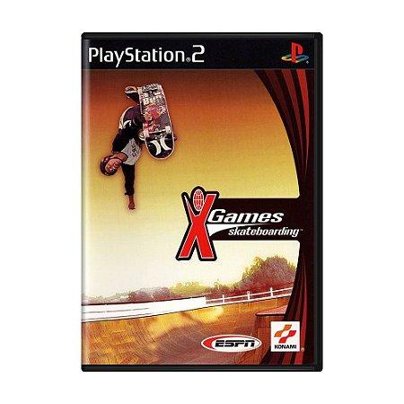Jogo ESPN X Games Skateboarding - PS2