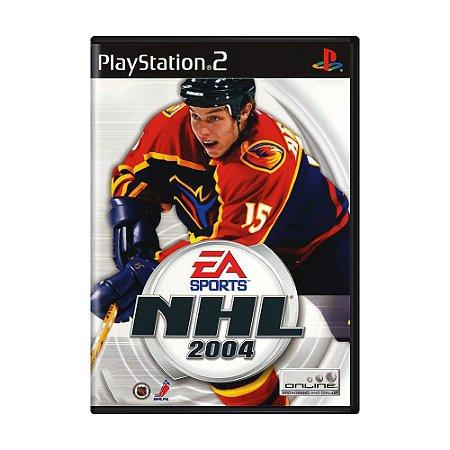 Jogo NHL 2004 - PS2