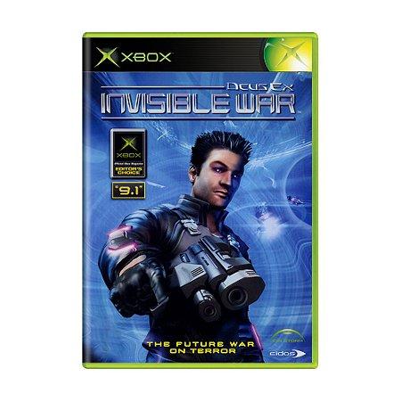 Jogo Deus Ex: Invisible War - Xbox