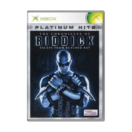 Jogo The Chronicles of Riddick: Escape from Butcher Bay - Xbox