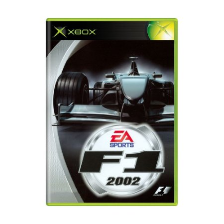 Jogo Formula 1 2002 - Xbox (Japonês)