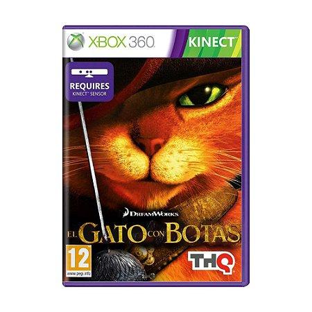 Jogo El Gato Con Botas - Xbox 360