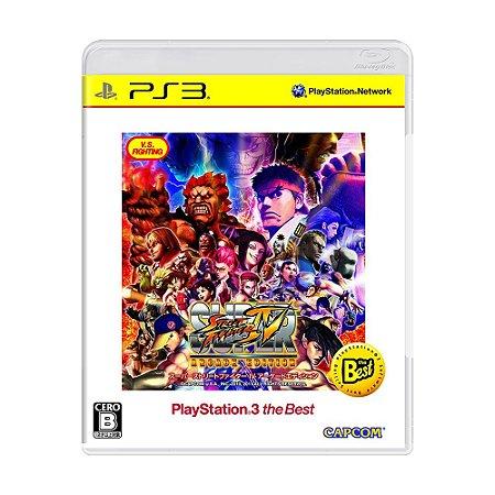 Jogo Super Street Fighter IV (Arcade Edition) - PS3 (Japonês)