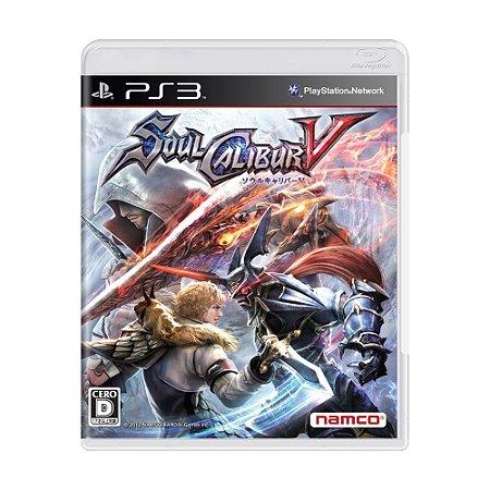 Jogo SoulCalibur V - PS3 (Japonês)