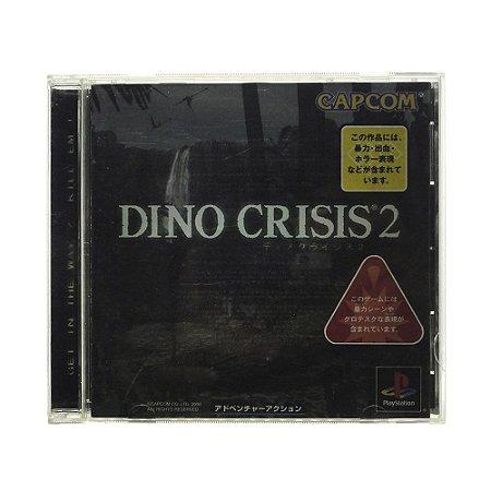 Jogo Dino Crisis 2 - PS1