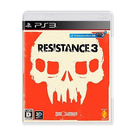 Jogo Resistance 3 - PS3 (Japonês)