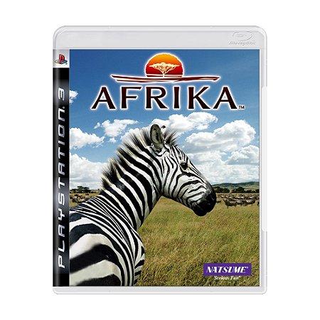 Jogo Afrika - PS3