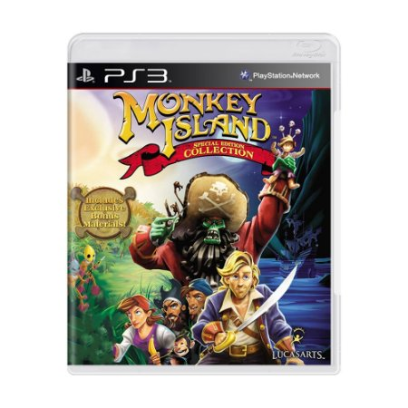 Jogo Monkey Island (Special Edition Collection) - PS3