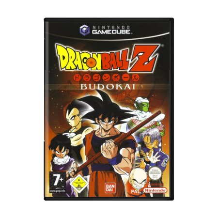 Jogo Dragon Ball Z: Budokai - GameCube (Europeu)