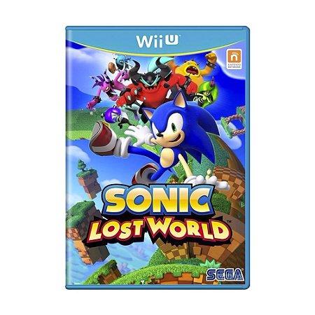 Jogo Sonic: Lost World - Wii U