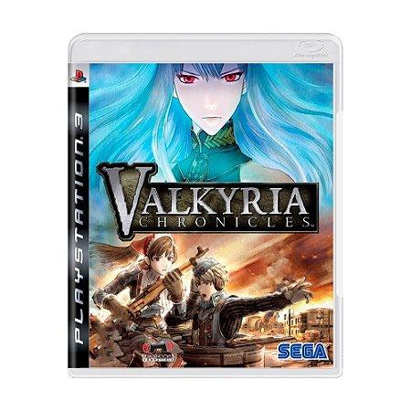 Jogo Valkyria Chronicles - PS3