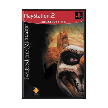 Jogo Twisted Metal: Black - PS2