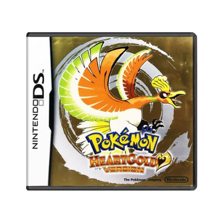 Jogo Pokémon HeartGold Version - DS
