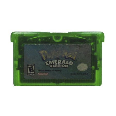 Jogo Pokémon Emerald Version - GBA