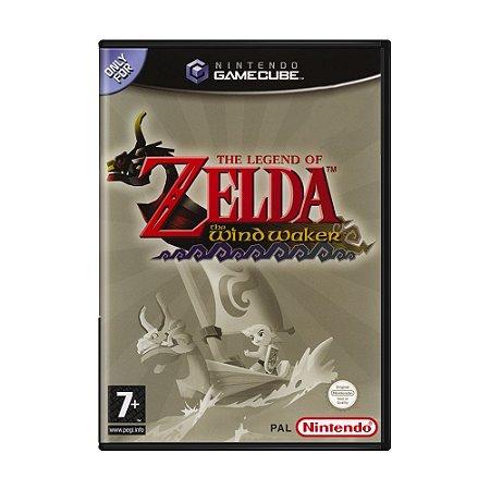 Jogo The Legend of Zelda: The Wind Waker - GameCube (Europeu)