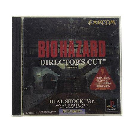 Jogo Biohazard Director's Cut - PS1