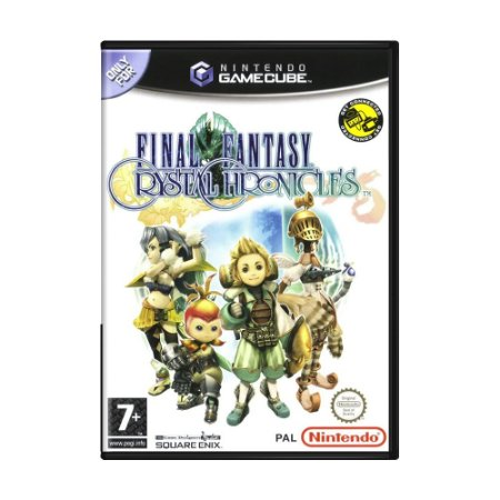 Jogo Final Fantasy: Crystal Chronicles - GameCube (Europeu)