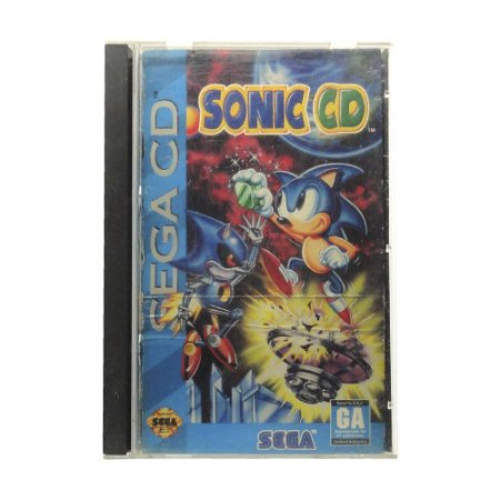 Jogo Sonic the Hedgehog - Sega CD