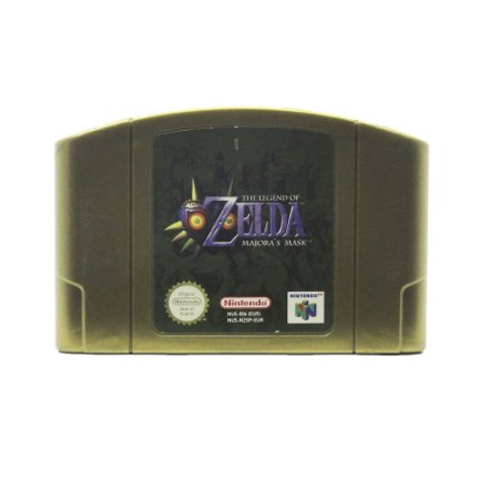 Jogo The Legend of Zelda: Majora's Mask - N64 (Europeu)
