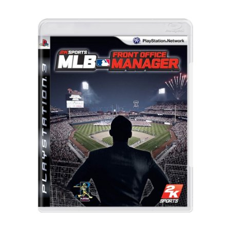 Jogo MLB Front Office Manager - PS3