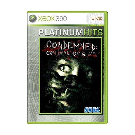 Jogo Condemned: Criminal Origins - Xbox 360