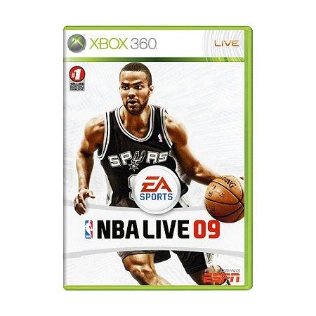 Jogo NBA Live 09 - Xbox 360