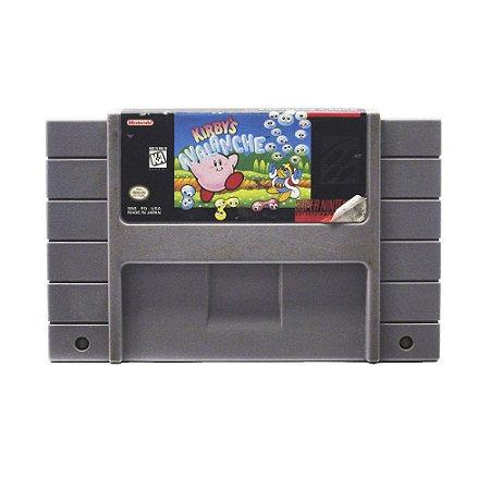 Jogo Kirby's Avalanche - SNES