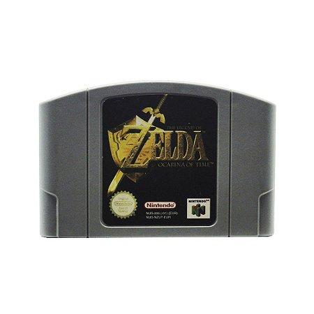 Jogo The Legend of Zelda: Ocarina of Time - N64 (Europeu)