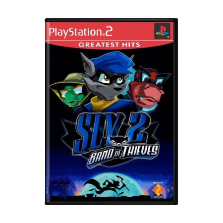 Jogo Sly 2 Band of Thieves - PS2