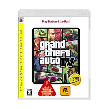 Jogo Grand Theft Auto IV - PS3 (Japonês)