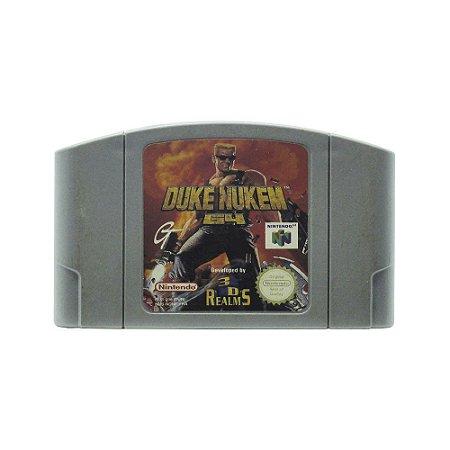 Jogo Duke Nukem 64 - N64 (Europeu)