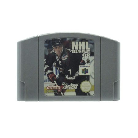 Jogo NHL Breakaway 98 - N64 (Europeu)