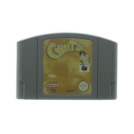 Jogo CyberTiger - N64 (Europeu)