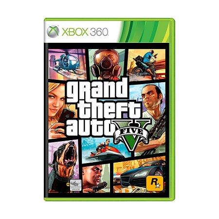 Jogo Grand Theft Auto V (GTA 5) - Xbox 360
