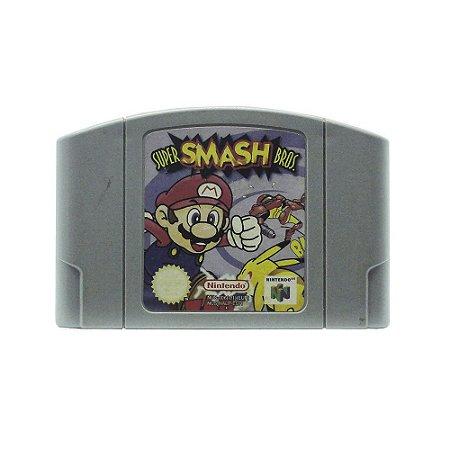Jogo Super Smash Bros. - N64 (Europeu)