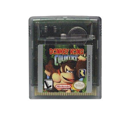 Jogo Donkey Kong Country - GBC