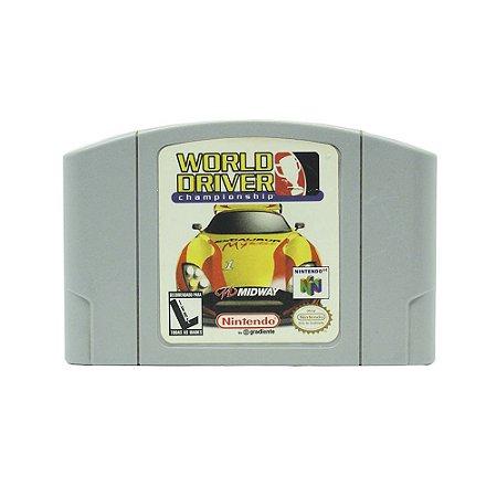 Jogo World Driver Championship - N64