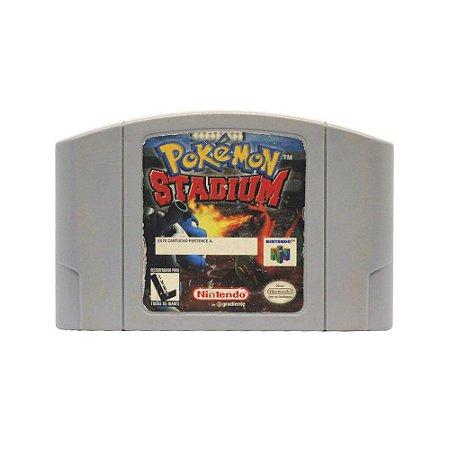 Jogo Pokémon Stadium - N64