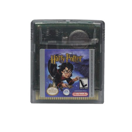 Jogo Harry Potter and the Sorcerer's Stone - GBC