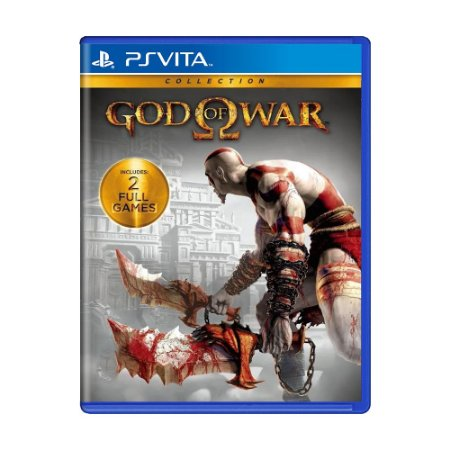Jogo God of War: Collection - PS Vita