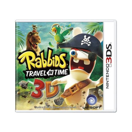 Jogo Rabbids: Travel in Time 3D - 3DS (Europeu)