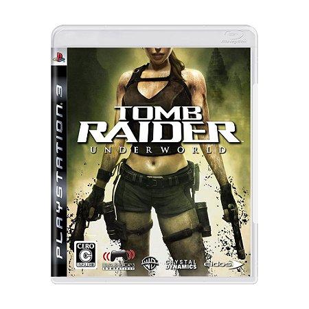 Jogo Tomb Raider: Underworld - PS3 (Japonês)