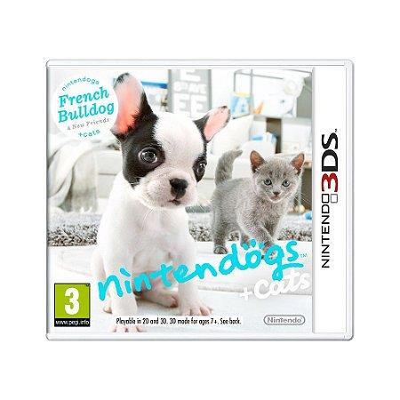 Jogo Nintendogs + Cats: French Bulldog & New Friends - 3DS (Europeu)
