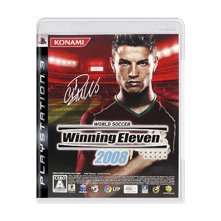 Jogo Winning Eleven 2008 - PS3