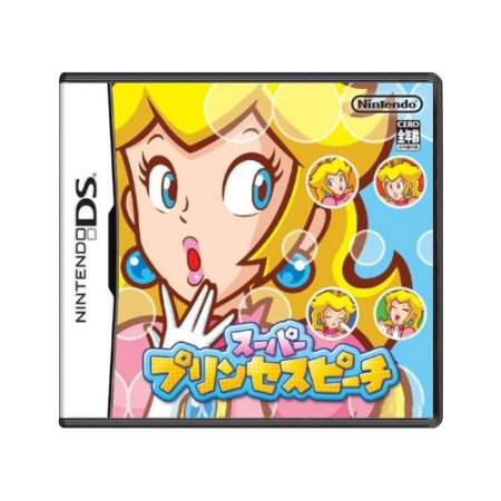 Jogo Super Princess Peach - DS (Japonês)