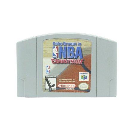 Jogo Kobe Bryant in NBA Courtside - N64