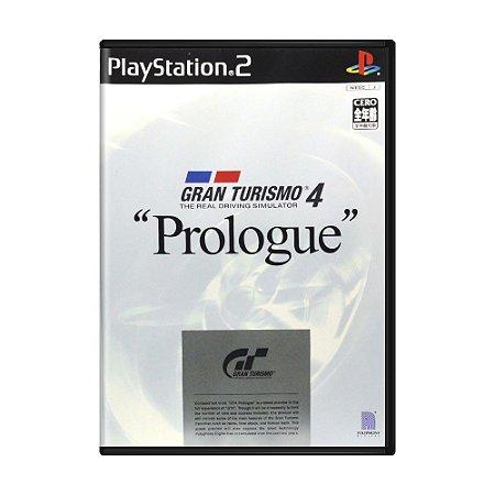 "Jogo Gran Turismo 4: ""Prologue"" - PS2 (Japonês)"